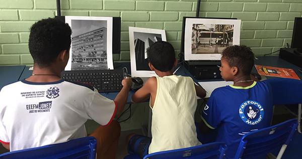 Oficinas gratuitas de cinema e vídeo para crianças e adolescentes movimentam escola da Serra